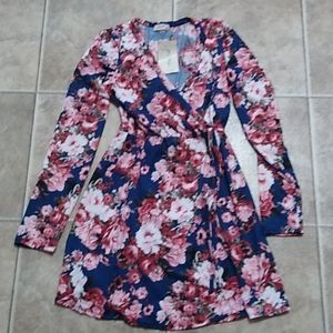 Women's size medium floral dress